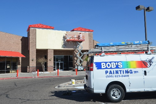 Commercial Painting Project - Albuquerque, New Mexico