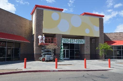 Stucco Repair - Teacher Heaven - Albuquerque, New Mexico