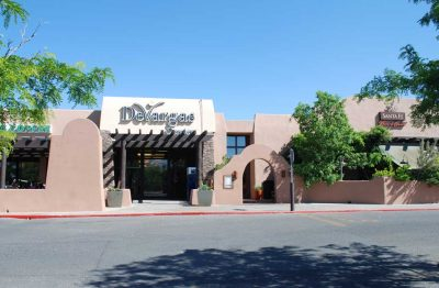 Commercial Painting - Shopping Center - Devargas Center - Santa Fe, New Mexico