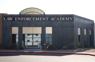 Bob's Painting Commercial Painting Project for Law Enforcement Academy in Albuquerque, New Mexico