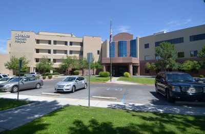 Bob's Painting Commercial Painting Project for Lovelace Womens Hospital in Albuquerque, New Mexico