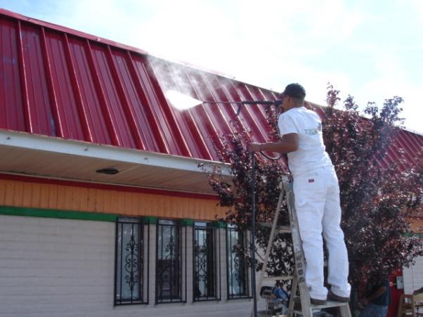 Metal Roof Coating Bob S Painting Albuquerque New Mexico