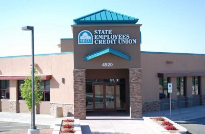 Bob's Painting Bank Painting Project for State Employees Credit Union in Albuquerque, New Mexico