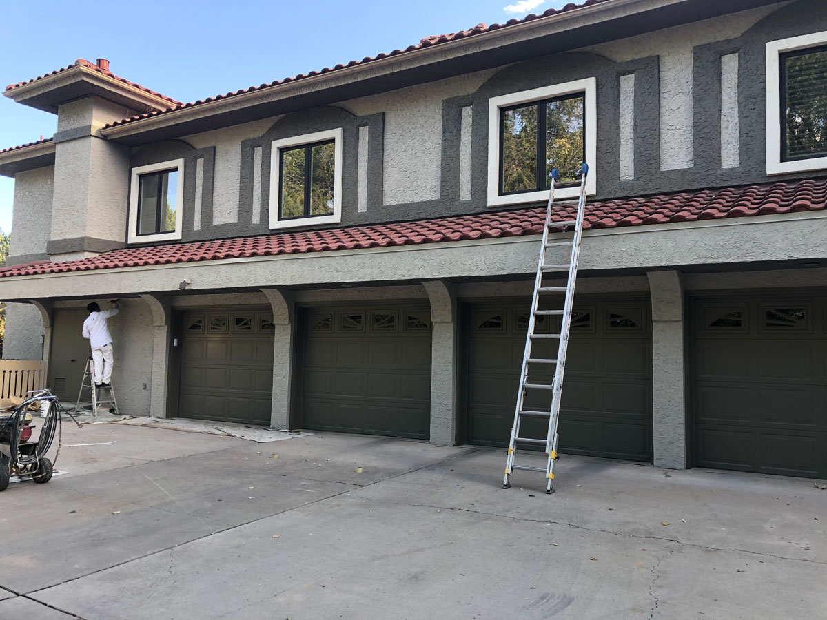 Residential Painting Project for Bob's Painting on Rio Grande Blvd in Albuquerque, NM