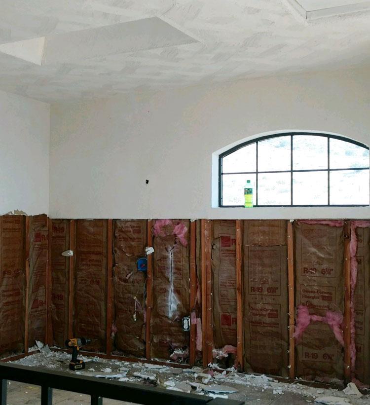 drywall damage repair